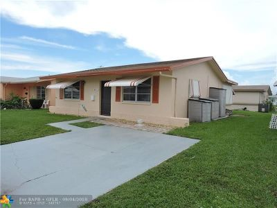 Tamarac Single Family Home For Sale: 4912 NW 54th Ct