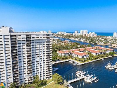 Fort Lauderdale Condo/Townhouse For Sale: 3200 Port Royale Drive #902
