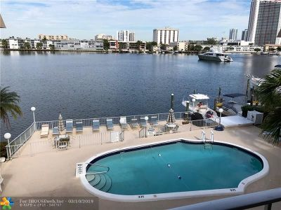 Hallandale Condo/Townhouse For Sale: 300 Golden Isles Dr #303
