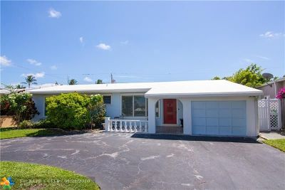 Lauderdale By The Sea Single Family Home For Sale: 234 Avalon Ave