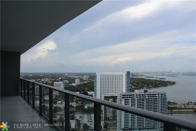 Miami Condo/Townhouse For Sale: 501 NE 31 St St #3806