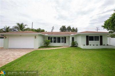 Fort Lauderdale Single Family Home Backup Contract-Call LA: 1820 NE 56th Ct