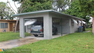 Oakland Park Single Family Home For Sale: 1033 NE 38th St