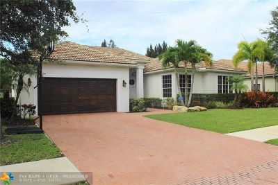 Davie Single Family Home For Sale: 8424 S Lake Forest Drive