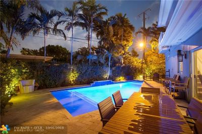Wilton Manors Single Family Home For Sale: 309 NE 20th St