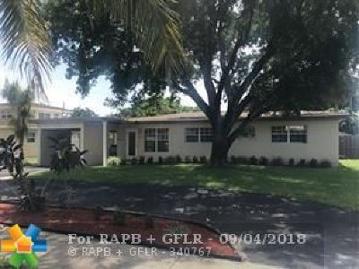Pompano Beach Single Family Home For Sale: 1112 SW 2nd Ave