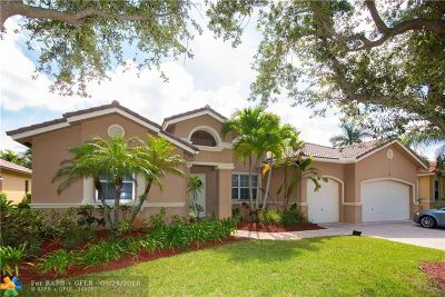 Pembroke Pines Single Family Home For Sale: 589 SW 159th Ter