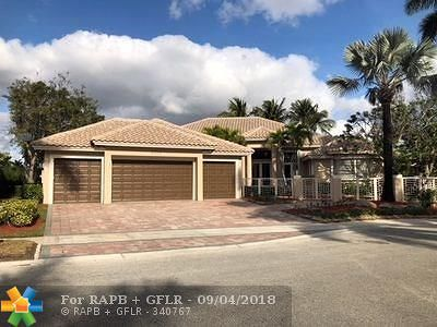 Weston Single Family Home For Sale: 2470 Poinciana Ct