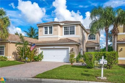 Coconut Creek Single Family Home For Sale: 3869 NW 62nd Ct