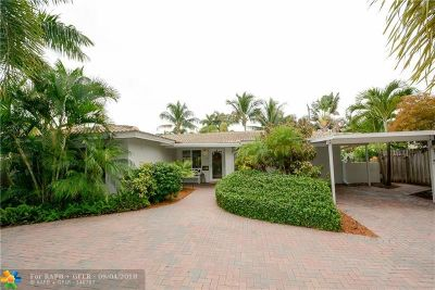 Lauderdale By The Sea Single Family Home For Sale: 276 Hibiscus Ave