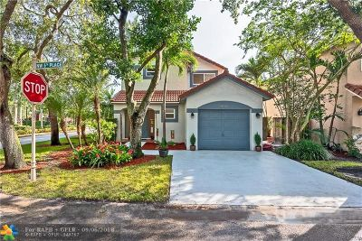 Plantation Single Family Home For Sale: 9841 NW 5th Pl