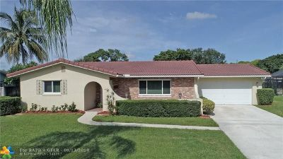 Coconut Creek Single Family Home Backup Contract-Call LA: 451 NW 42nd Ave