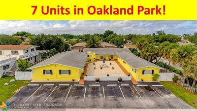 Oakland Park Commercial For Sale: 281 NW 40th St
