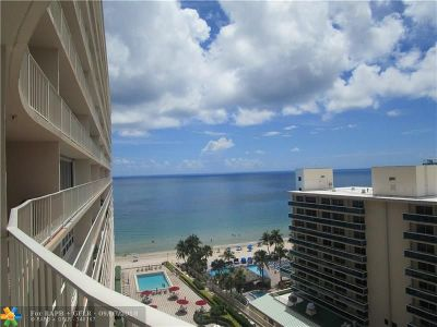 Condo/Townhouse Sold: 4100 Galt Ocean Dr #1103