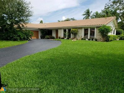 Coral Springs Rental For Rent: 1311 NW 100th Ave