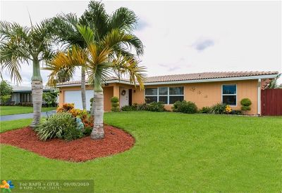 Coral Springs Rental For Rent: 3798 NW 78th Lane