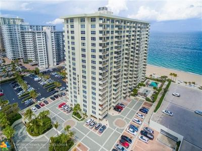 Condo/Townhouse For Sale: 3550 Galt Ocean Dr #206
