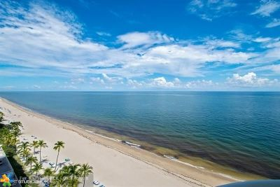 Fort Lauderdale Condo/Townhouse For Sale: 3410 Galt Ocean Dr #1101N