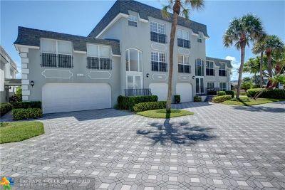Hillsboro Beach Condo/Townhouse For Sale: 1194 Hillsboro Mile #27