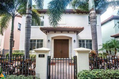 Boca Raton Single Family Home For Sale: 578 NW Crane Ter