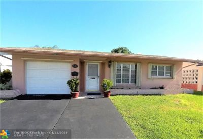 Tamarac Single Family Home For Sale: 4909 NW 52 Court