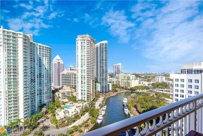 Fort Lauderdale Condo/Townhouse For Sale: 511 SE 5th Ave #1902