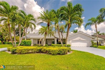 Coral Springs Single Family Home For Sale: 1137 NW 111th Way