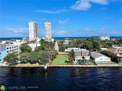 Pompano Beach Residential Lots & Land For Sale: 201 S Riverside Dr