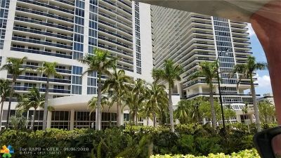 Hallandale Condo/Townhouse For Sale: 1850 S Ocean Dr #1108