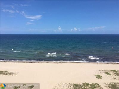 Pompano Beach Condo/Townhouse For Sale: 710 N Ocean Blvd #1007
