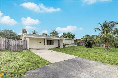 Pompano Beach Single Family Home For Sale: 3120 NE 7th Ave