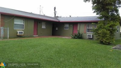 Lauderhill Multi Family Home For Sale: 1620 NW 52nd Ave