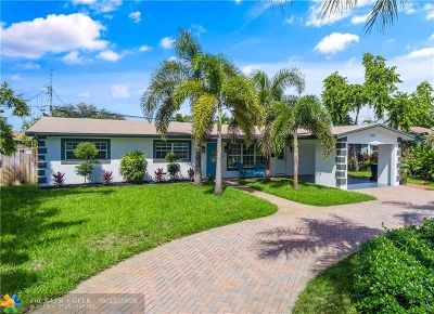 Fort Lauderdale Single Family Home For Sale: 5271 NE 19th Ave