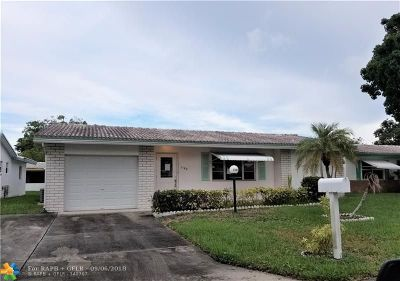 Plantation Single Family Home For Sale: 1180 NW 89th Way