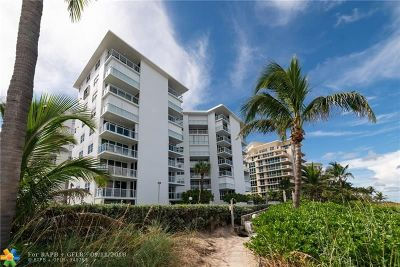 Hillsboro Beach Condo/Townhouse Backup Contract-Call LA: 1057 Hillsboro Mile #312
