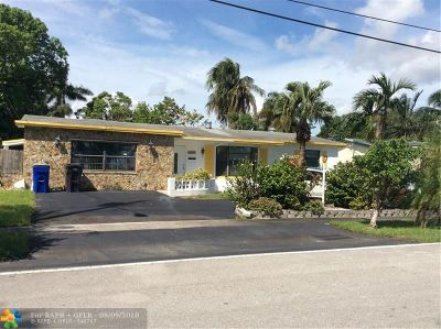 Lauderdale Lakes Single Family Home For Sale: 3401 NW 40 St