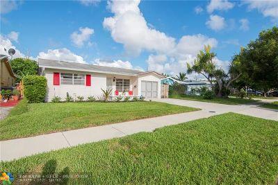 Pompano Beach Single Family Home Backup Contract-Call LA: 3811 NE 16th Ave