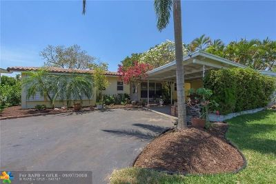 Wilton Manors Rental For Rent: 2309 NE 18th Ave
