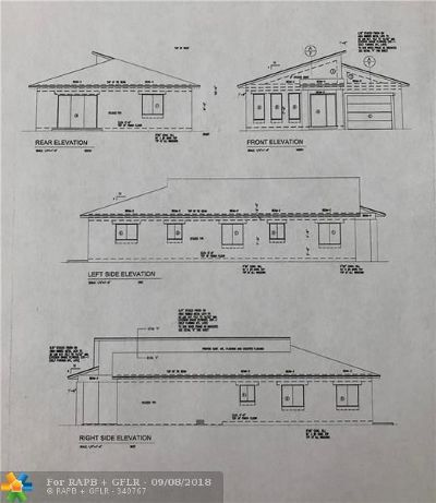 Oakland Park Residential Lots & Land For Sale: 2610 NW 18th Ter