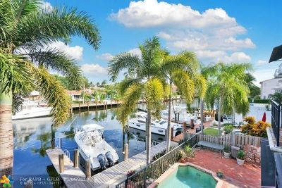 Fort Lauderdale Condo/Townhouse For Sale: 2731 NE 15th St #2731