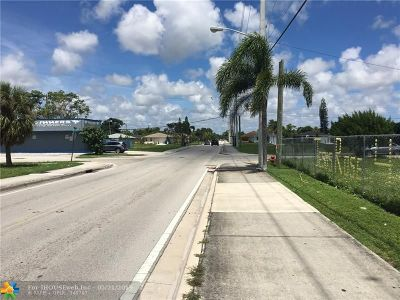 Pompano Beach Residential Lots & Land For Sale: NW 27th Ave