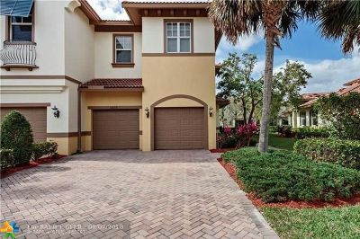 Coral Springs Condo/Townhouse For Sale: 6093 NW 116th Drive #6093