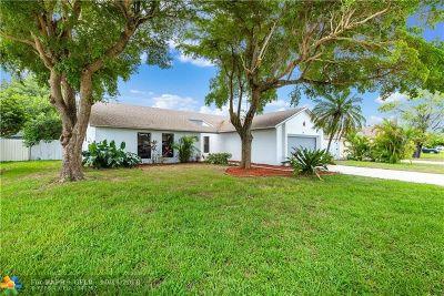 Deerfield Beach Single Family Home For Sale: 289 NW 41st Way
