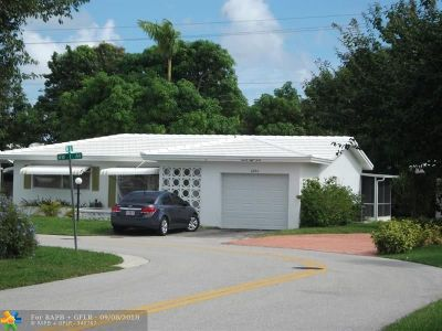 Pompano Beach Single Family Home For Sale: 2840 NW 1st Ave