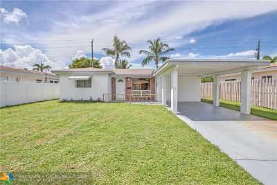 Oakland Park Single Family Home For Sale: 4751 NE 2nd Ave