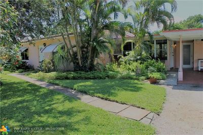 Wilton Manors Single Family Home For Sale: 500 NE 27th St