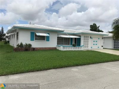Tamarac Single Family Home For Sale: 7515 NW 69th Ave