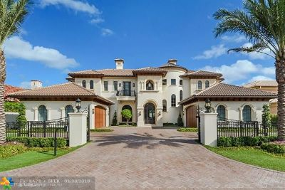 Boca Raton Single Family Home Sold: 1400 Royal Palm Way