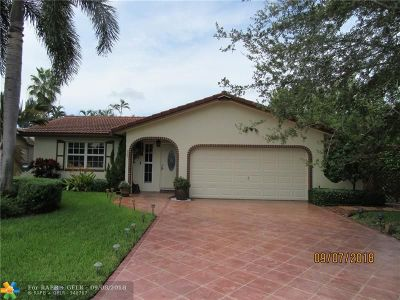 Coral Springs Single Family Home For Sale: 2348 NW 98th Way