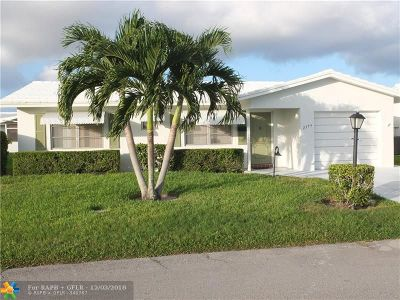 Boynton Beach Single Family Home For Sale: 2379 SW 8th Ave